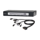OmniView® PRO3 4-Port USB & PS/2 KVM Switch & PS/2 Cable Bundle P-F1DA104Z-B