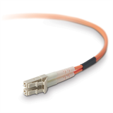 Belkin Fiber Optic Cable; Multimode LC/LC Duplex MMF, 62.5/125 P-F2F202LL