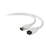 Firewire 800/400 9-Pin to 6-Pin 1.8m Cable P-F3N404-APL