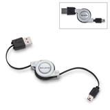5-Pin Mini-B Retractable Hi-Speed USB 2.0 Cable P-F3U138-RTC