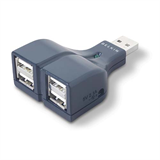 USB 2.0 4-Port Thumb Hub P-F5U218-MOB