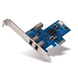 FireWire 3-Port PCI Express™ Card P-F5U504