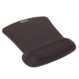 WaveRest® Gel Mouse Pad, Black P-F8E262