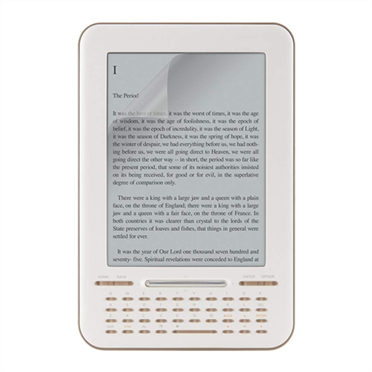 TrueClear Anti-Glare Screen Protector for Google E-Reader -$ HeroImage