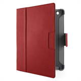 Cinema Leather Folio with Stand (No Magnets) for The new iPad and iPad 2 P-F8N756