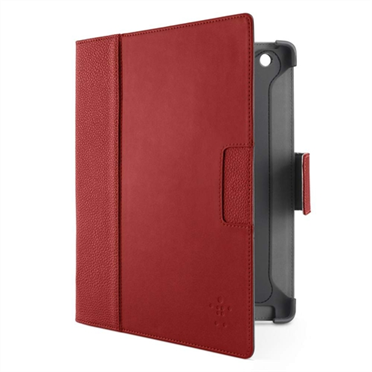 Cinema Leather Folio with Stand (No Magnets) for The new iPad and iPad 2 -$ HeroImage