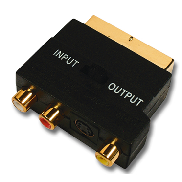 Gold Scart-Adapter -$ HeroImage