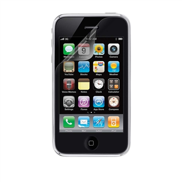 TrueClear Transparent Screen Protector for iPhone 4/4S - 3 Pack -$ HeroImage