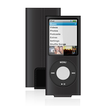 Leather Sleeve for iPod nano (4th Gen) -$ HeroImage