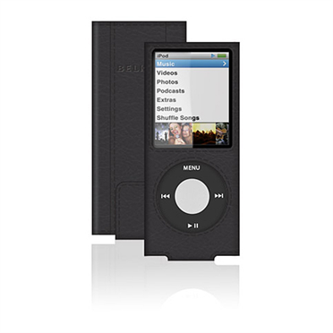 Eco-Conscious Leather Sleeve for iPod nano (4th Gen) -$ HeroImage