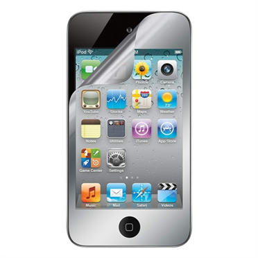 TrueClear Mirror Screen Protector for iPod Touch 4G - 2 Pack -$ HeroImage