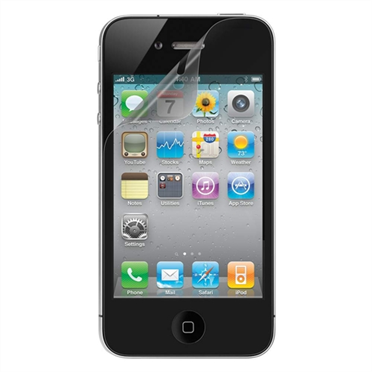 TrueClear Anti-Smudge Screen Protector for iPhone 4/4S - 2 Pack  P-F8Z869-2