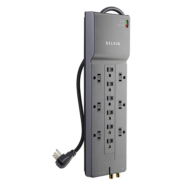 12-Outlet Home/Office Surge Protector with 8-foot cord -$ HeroImage
