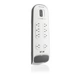 8 Outlet Surge Protector with 2.1A USB  Charging P-BV108050-06