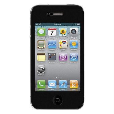 TrueClear 360° Privacy Screen Protector for iPhone 4/4S -$ FrontViewImage