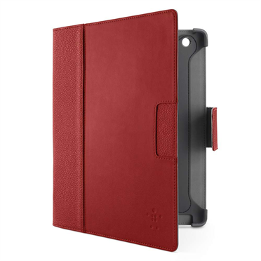 Cinema Leather Folio with Stand for iPad 3rd gen and iPad 2 P-F8N757