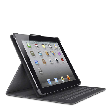 Cinema Leather Folio with Stand for The new iPad and iPad 2 -$ FrontViewImage