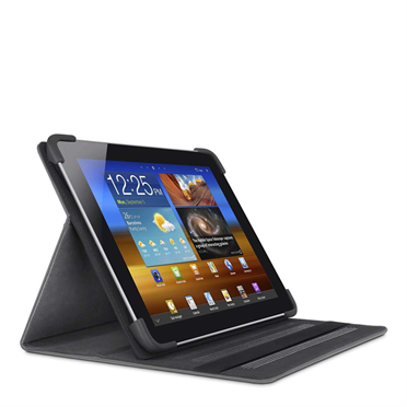 Cinema Leather Folio with Stand for the new Samsung Galaxy Tab 2 7.0 -$ FrontViewImage
