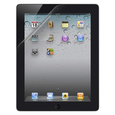 TrueClear Transparent Screen Protector for for iPad 2 or later - 2 Pack P-F8N798-2