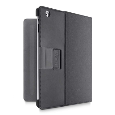 Cinema Leather Folio with Stand for The new iPad and iPad 2 -$ BackViewImage