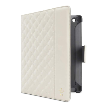 Quilted Cover with Stand for iPad 2, 3, 4th gen P-F8N880