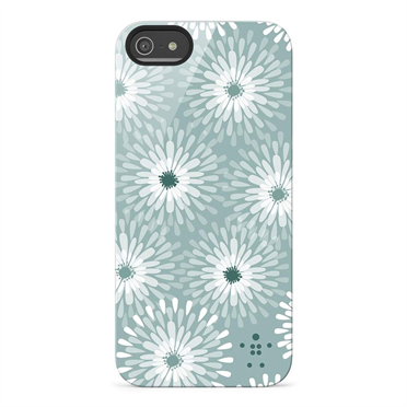 Shield Blooms Case for iPhone 5 -$ TopViewImage