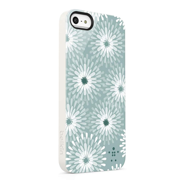 Shield Blooms Case for iPhone 5 -$ FrontViewImage