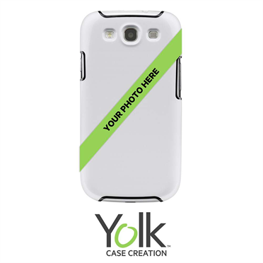 Yolk Custom Case for Samsung Galaxy S3 -$ HeroImage