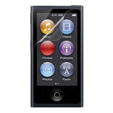 Transparenter Screen Guard Displayschutz für iPod nano der 7. Gen. - 3er-Pack -$ HeroImage