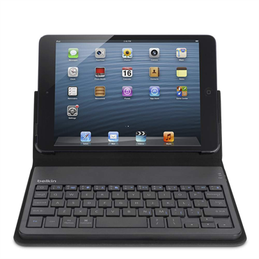 Portable Keyboard Case for iPad mini -$ SideView1Image
