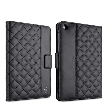 Quilted Cover with Stand for iPad mini -$ BackViewImage