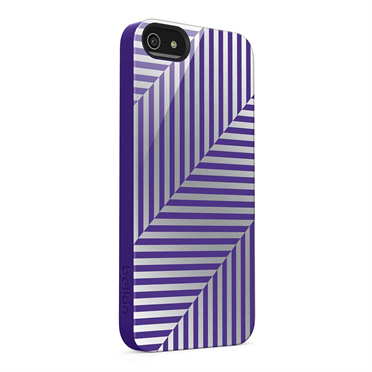 Shield Pinstripe Case for iPhone 5 -$ SideView1Image