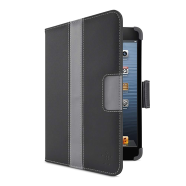 Striped Cover with Stand for iPad mini -$ SideView1Image