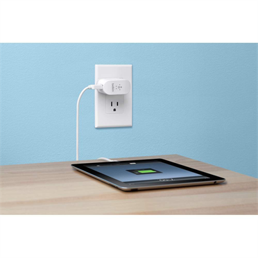 Swivel Charger + Lightning ChargeSync Cable (10 Watt/2.1 Amp) -$ TopViewImage