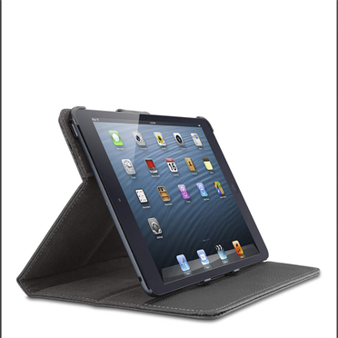 Leather Tab Cover with Stand for iPad mini -$ FrontViewImage