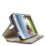 SAMSUNG GALAXY S4 Wallet Folio with Stand P-F8M563