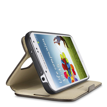 SAMSUNG GALAXY S4 Wallet Folio with Stand -$ HeroImage
