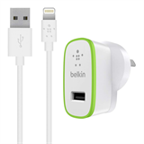 BOOST↑UP™ iPad and iPhone 5 Charger with ChargeSync Cable (12 watt/2.4 Amp) P-F8J125