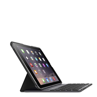 QODE™ Ultimate Pro Keyboard Case for iPad Air 2 (App enabled) -$ TopViewImage